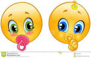 free emoticons babies