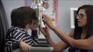 free eye exam babies