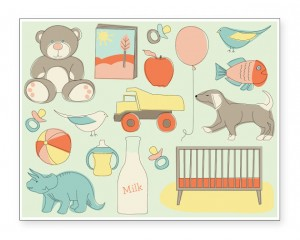 free baby cards